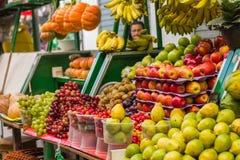 Salvador Bahia,Brazil,fruit in the market place,tropical. Street stock photos