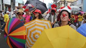 clowns protest in salvador