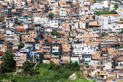 Salvador in Bahia, Brazil. Poor neighborhood of Salvador Bahia, Brazil stock photography