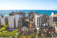 Salvador, Bahia. Skyline of Salvador, Bahia in Brazil Royalty Free Stock Images
