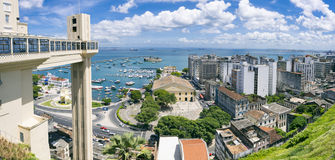 Salvador Bahia Skyline Panorama Royalty Free Stock Photo