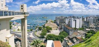 Salvador Bahia Skyline Panorama Royalty Free Stock Photo