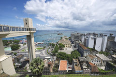Salvador Brazil City Skyline from Pelourinho Royalty Free Stock Images