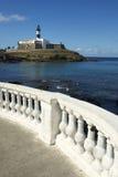 Salvador Brazil Farol da Barra Lighthouse Beach Royalty Free Stock Photos