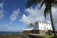 Salvador Brazil Fort Santa Maria in Barra Stock Images