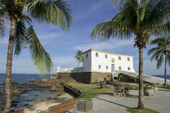 Salvador Brazil Fort Santa Maria in Barra Stock Photos