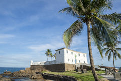 Salvador Brazil Fort Santa Maria in Barra Royalty Free Stock Images