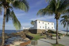 Salvador Brazil Fort Santa Maria em Barra Fotos de Stock