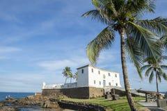 Salvador Brazil Fort Santa Maria em Barra Imagens de Stock Royalty Free