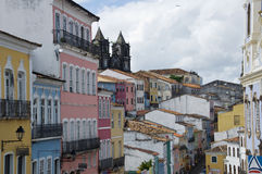 Salvador, Brazil. Historic center Pelourinho, Salvador de Bahia, Brazil Royalty Free Stock Photos