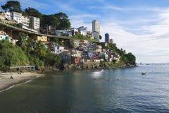 Salvador Brazil Solar do Unhao Favela Royalty Free Stock Image