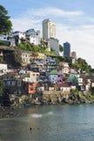 Salvador Brazil Solar do Unhao Favela Community Stock Photo