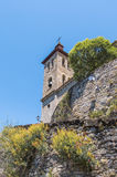 Salvador church at Biescas, Spain Stock Photography