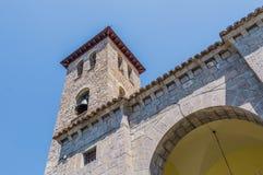 Salvador church at Biescas, Spain Stock Photo