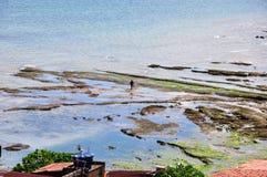 Salvador City. Pedra Furada Neighbohood, is a very popular famous fisherman place in Salvador, Bahia Brasil Stock Photo
