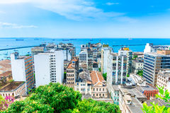 Salvador City in Bahia, Brazil Royalty Free Stock Photos