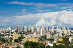 Salvador Cityscape, Bahia, Brazil. Aerial view of Salvador cityscape, Bahia, Brazil royalty free stock photography