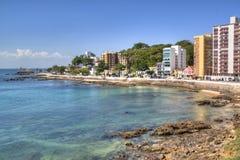 Salvador coast line. The coast line of Salvador, Brazil Royalty Free Stock Photography