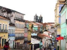 Salvador da Bahia - Brasilien Arkivfoto