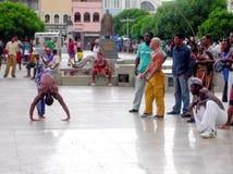 Salvador da Bahia-capoeira - Brazilië Royalty-vrije Stock Fotografie