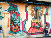 Salvador da Bahia - Graffiti Stock Photography