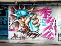 Salvador da Bahia - graffito Immagine Stock