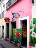 Salvador da Bahia street - Brazil Royalty Free Stock Image