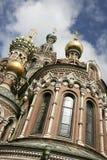 Salvador da igreja do sangue St Petersburg Imagens de Stock Royalty Free