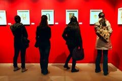 Salvador Dali-Ausstellung in Istanbul, die Türkei Lizenzfreies Stockfoto