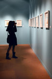 Salvador Dali-Ausstellung in Istanbul, die Türkei Stockbild