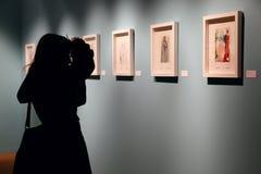Salvador Dali-Ausstellung in Istanbul, die Türkei Stockbilder