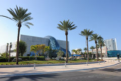 Salvador Dali Museum. The New Salvador Dali Museum building in St. Petersburg, Florida Stock Photos