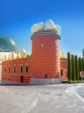 Salvador Dali museum. Famous Salvador Dali museum in Figueras, Spain royalty free stock photo