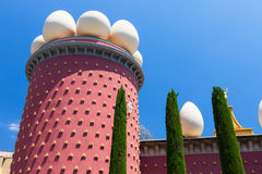 Salvador Dali museum in Figueras, Spain Stock Image