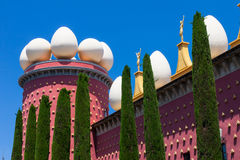 Salvador Dali-Museum in Figueras, Spanien Lizenzfreies Stockbild