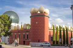 Salvador Dali Museum a Figueres Immagini Stock Libere da Diritti