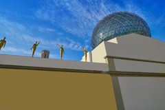 Salvador Dali museum in Figueres of Catalonia Stock Image