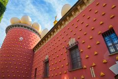 Salvador Dali museum in Figueres of Catalonia Royalty Free Stock Photography