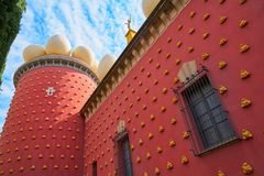 Salvador Dali museum in Figueres of Catalonia Stock Photography