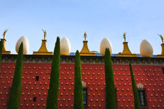 Salvador Dali museum in Figueres Royalty Free Stock Photo