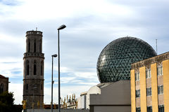 Salvador Dali museum in Figueres Royalty Free Stock Photography