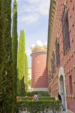 Salvador Dali museum i Figueras Arkivbilder