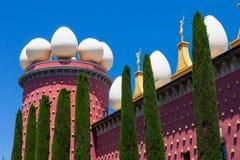 Salvador Dali museum i Figueras, Spanien royaltyfri bild