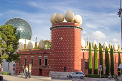 Salvador Dali Museum i Figueres Royaltyfria Bilder