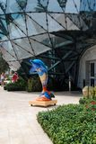 Salvador Dali Museum. The Salvador Dali Musuem in Clearwater, Florida. A collection of works from artist Salvador Dali. Exhibits and grounds inspired by his art Stock Image