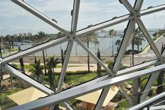 Salvador Dali Museum. The Salvador Dali Musuem in Clearwater, Florida. A collection of works from artist Salvador Dali. Exhibits and grounds inspired by his art Stock Images