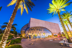 Salvador Dali Museum. ST. PETERSBURG, FLORIDA - APRIL 6, 2016: Exterior of the Salvador Dali Museum. The museum houses the largest collection of Dali`s work royalty free stock images