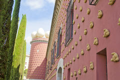Salvador Dali muzeum w Figueras Zdjęcia Stock