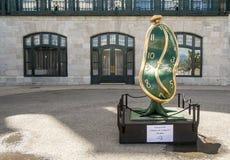 Salvador Dali rzeźba w frontowej górskiej chacie Frontenac zdjęcia royalty free