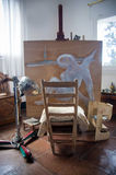 Salvador Dali's studio in Portlligat, Cadaques Stock Images
